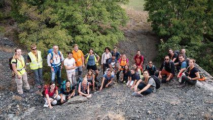 I geologi della Bicocca a caccia di coralli: non al mare ma tra le montagne