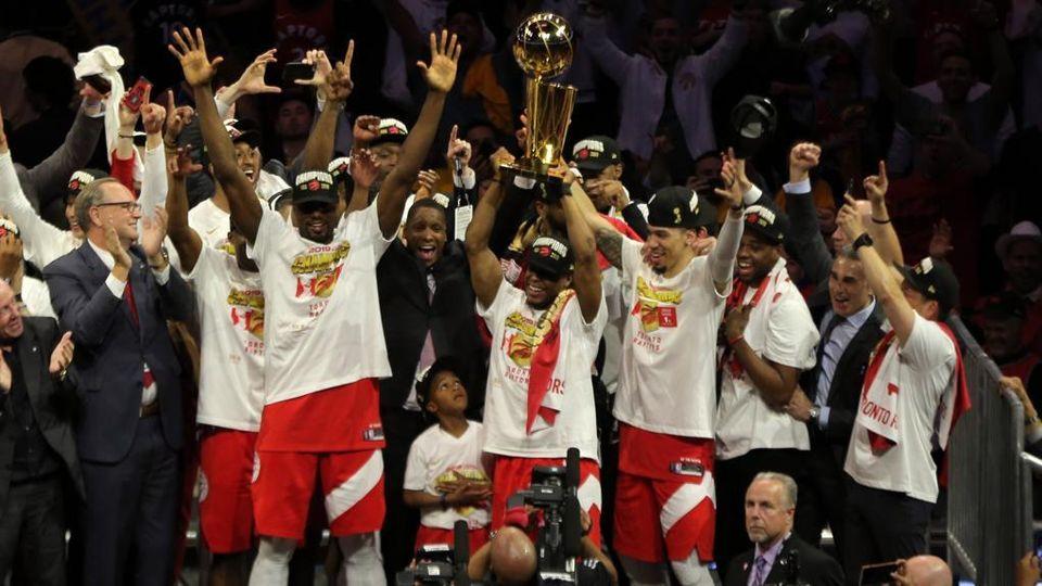 grande sconto seleziona per ufficiale design moderno Toronto campione Nba, è il primo titolo vinto fuori dagli ...