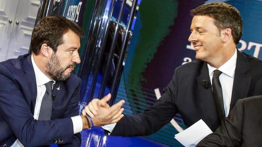 Incontro segreto Salvini-Renzi nella villa toscana di Verdini - La Stampa