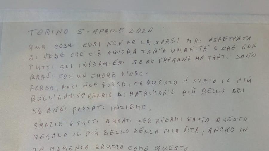 Anniversario Di Matrimonio Torino.Anniversario Di Nozze In Ospedale Per Il Coronavirus Dagli
