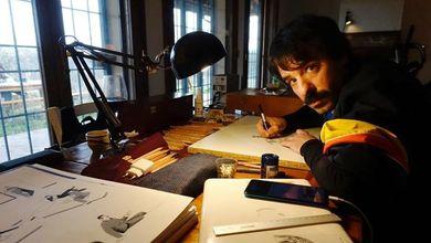 Antonio Pronostico: «Vi racconto il mio romanticismo a matita»