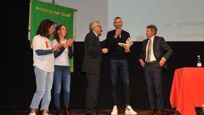 La parole di Jack Sintini dal palco del Sociale conquistano il Panathlon
