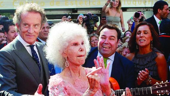 Addio duchessa d'Alba, la ribelle che dava del tu alla