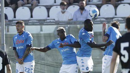 Napoli, la partita contro l'Ascoli a Castel di Sangro