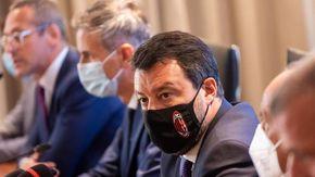 "Salvini a Bonomi: ""Non flirto co i no vax"""