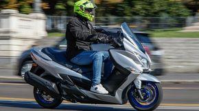 Suzuki Burgman 400: si rinnova il primo della specie