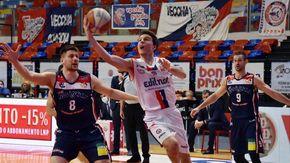 Basket, il baby talent Berdini saluta Biella per avvicinarsi alla sua famiglia: i rossoblù restano senza play