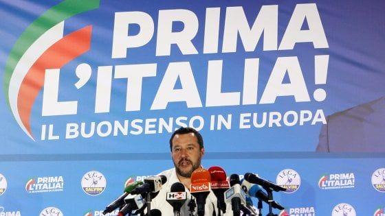 Elezioni europee trionfo Lega. Salvini