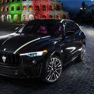 Quelle Maserati vestite con il tricolore