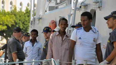 Gli sbarchi? Hanno un colpevole:<br /> latratta di esseri umani dall'Eritrea<br />