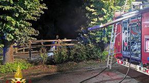 Cassonetti incendiati a Montaldo Scarampi
