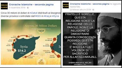 Facebook, le pagine italiane che inneggiano all'Isis