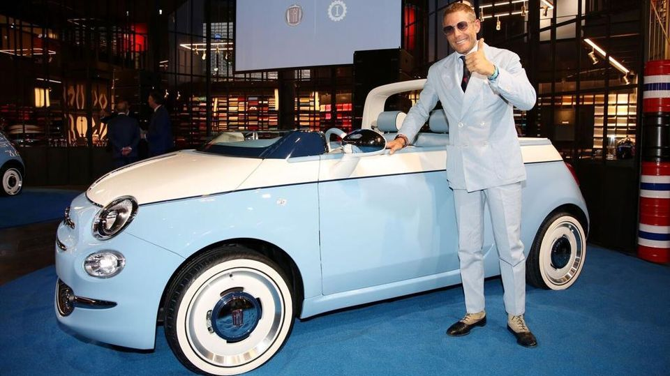 Fiat 500 Spiaggina Garage Italia Di Lapo Elkann Festeggia I 60 Anni