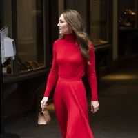 Kate Middleton: il migliore total look in rosso