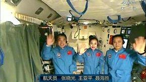 Rientrati sulla Terra i 'taikonauti' della Shenzhou 12, che costruirà la stazione spaziale cinese