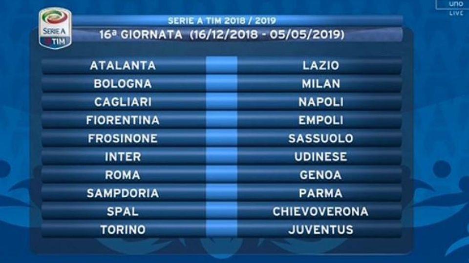 Calendario Calcio Spagnolo.Sorteggi Ecco Il Calendario Di Serie A La Stampa