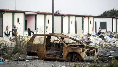 La discarica di rom? Non nel mio quartiere