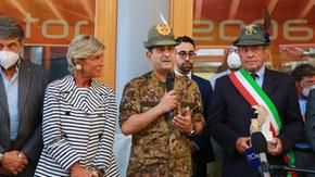 General Figliuolo in Sestriere promotes the mountains: