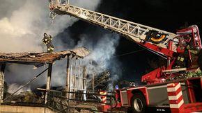Incendio nella notte a Roisan, distrutto un fienile