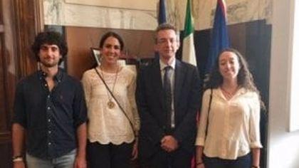 Universiade a Napoli, atleti federiciani incontrano il rettore