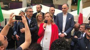 Rinviato di una settimana l'appuntamento con la leader di Fratelli d'Italia, Giorgia Meloni