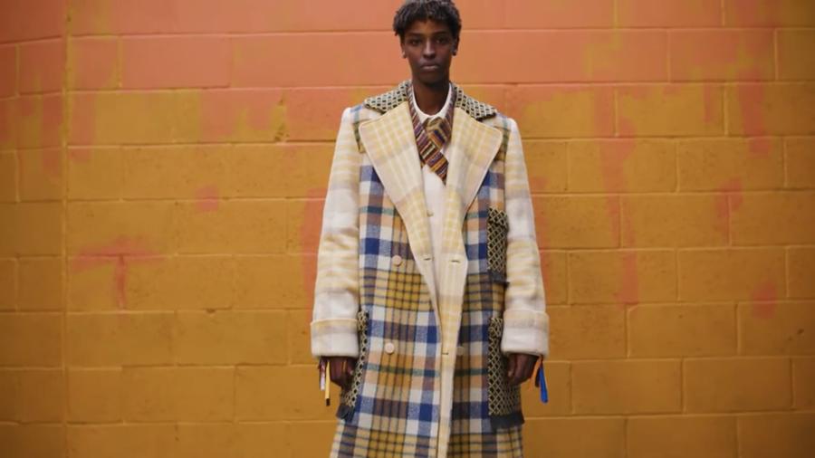Al via la settimana della moda a Londra: lo show è online
