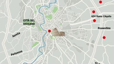 Roma, la periferia è una vera polveriera<br /> Ecco la mappa delle sette zone calde