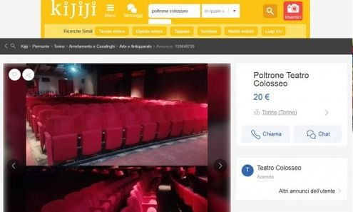 Vendita Poltrone Torino.Torino Vanno A Ruba Online Le Poltrone In Vendita Del