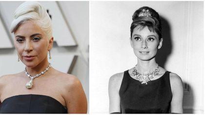 Oscar 2019, Lady Gaga come Audrey Hepburn: lo stesso pendente di 'Colazione da Tiffany'
