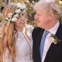 Nozze Boris Johnson, l'abito da sposa hippie di Carrie Symonds sold out in 24 ore