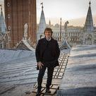 Alberto Angela sui tetti di San Marco racconta le 'Meraviglie' di Venezia