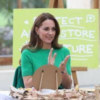Verde smeraldo. Kate Middleton indossa il colore dell'inverno per un evento... green