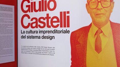 Giulio Castelli: la cultura imprenditoriale del sistema design in mostra all'ADI