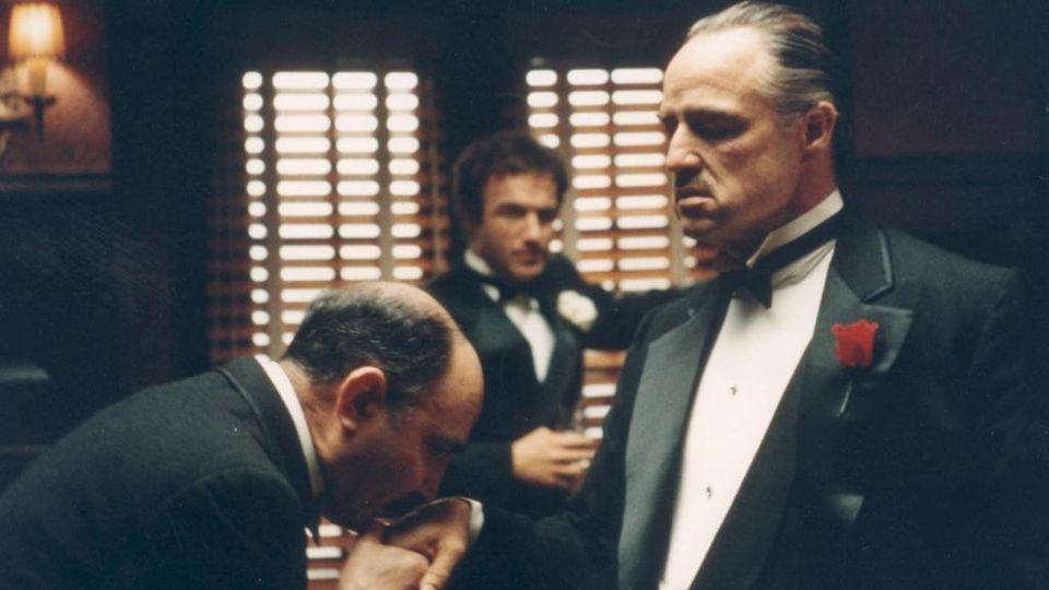 Celebre scena del Padrino con colonna sonora di Nino Rota