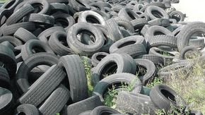 Traffico e deposito abusivo di pneumatici: multa di oltre 6300 euro