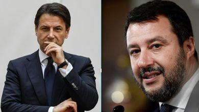 Matteo Salvini e le bufale virali, Giuseppe Conte a luci rosse: vota
