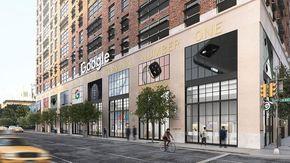 Telefoni, computer e corsi: il primo Google Store apre a New York