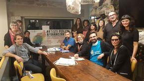 "Gli ""Artisti per l'Afghanistan"" di Omegna donano 4 mila euro a Emergency"