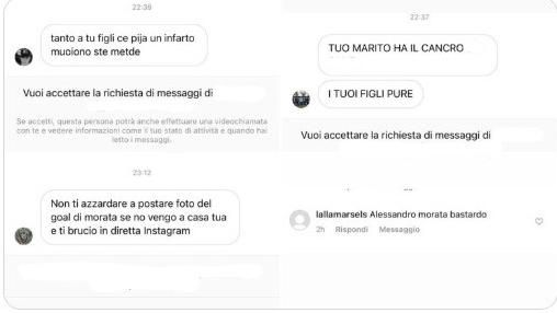 """Euro 2020, insulti e minacce social a Morata. La moglie rende pubblici i post: """"Vergognoso, spero in provvedimenti"""""""