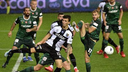 Parma-Pisa 1-1: battaglia sotto la pioggia al Tardini. La fotocronaca