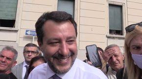 """Caso Morisi, Salvini: """"Non mi pento della citofonata a Bologna"""""""