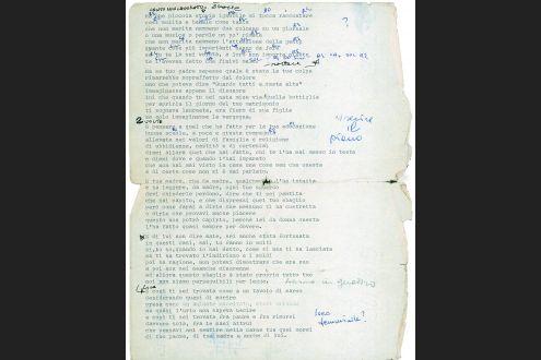 Canzoni O Poesie Le Strofe Di Francesco Guccini Vanno In