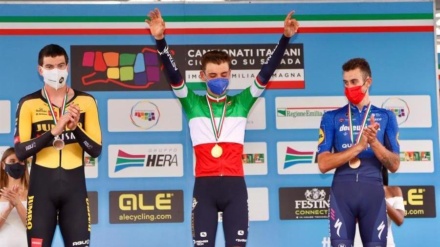 L'albese Matteo Sobrero è il nuovo campione italiano di ciclismo a  cronometro - La Stampa
