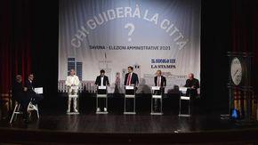 Chi guiderà la città?  I cinque candidati sindaco a confronto al teatro Chiabrera di Savona
