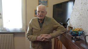Il novarese Gaudenzio Nobili, 109 anni, è da ieri l'uomo più anziano d'Italia