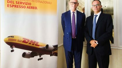 Dhl, leader mondiale nel trasporto espresso internazionale, investe a Napoli 10 milioni