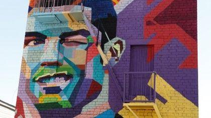 Argentina, Messi in hotel con vista su murales Ronaldo