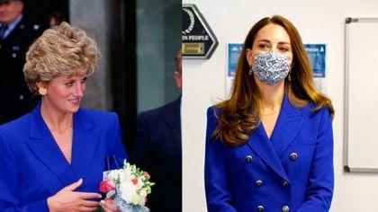 Kate Middleton arriva in Scozia con un blazer blu di Zara che in pochi minuti va sold out