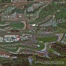 MotoGp, il circuito del Mugello visto dal satellite