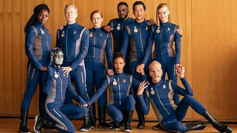 Il cast più inclusivo di sempre in Star Trek Discovery